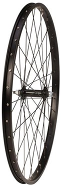 Image of Tru-Build 26 inch Alloy Rim With Alloy Hub and Nutted Axle Front MTB Wheel