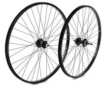 Alloy Rim Black / Screw-on Nutted Axle Rear 6 Bolt Disc Wheel