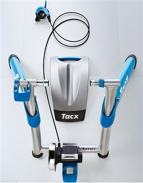 Tacx Satori High Power Folding Magnetic Trainer with Gelsoft Roller