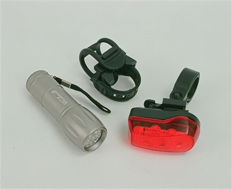 Oxford Ultra Torch 9 LED Front/7 LED Rear Lightset