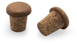 Bamboo and Cork Bar Plugs