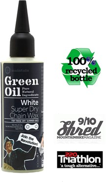 Green Oil White Super Dry Chain Wax - 100ml
