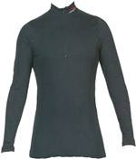 2122 MTS Zipped Turtle Neck Base Layer