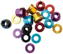 Halo A-Nuts Alloy Nut and Washer Set