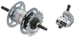 Roller Brake Compatible 3-speed Rear Hub SG3R40