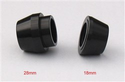 Product image for Halo Spin Doctor Front Thru Axle Conversion - Spare 20mm cups Only