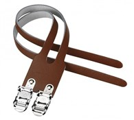Double Leather Toe Strap