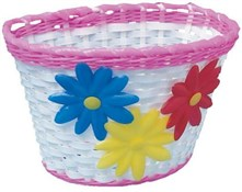 PVC Wicker Effect Basket
