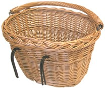 Wicker Oval Hook-On Front Basket