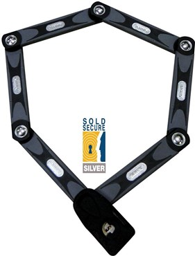 Abus Bordo 6000 Folding Lock - Sold Secure Silver