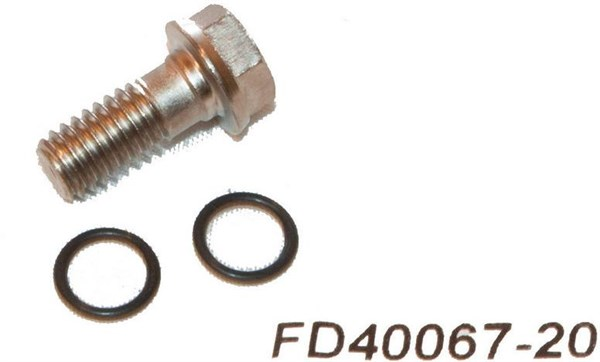Image of Formula Hose Screw Kit for K24 and Bianco