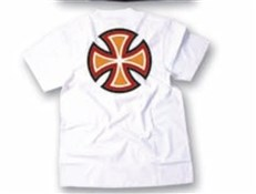 Independent T/C Colour Cross Short Sleeve T-Shirt