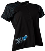 Tempo Womens Short Sleeve Mountain Bike Jersey