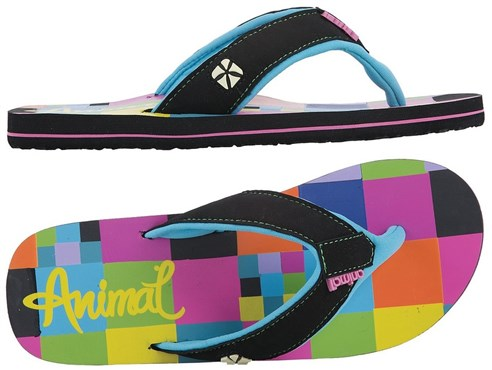 Animal Swish Flip Flop