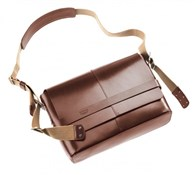 Product image for Brooks Barbican Leather Shoulder Bag