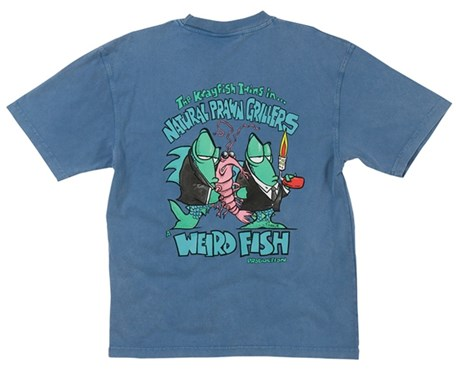 Image of Weird Fish Natural Prawn Grillers T-Shirt