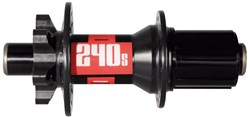 240s 6 Bolt Thru-Axle Rear Disc Hub