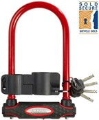 Street Fortum Gold Sold Secure D Lock