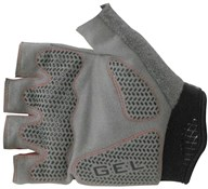 Outeredge Gel Mitt Short Finger Cycling Gloves - Red