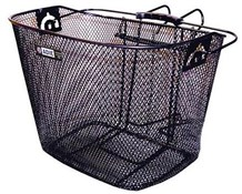 Front Mesh Metal Basket With Bracket