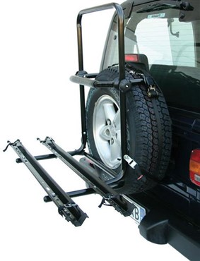 Image of Peruzzo Brennero 4x4 Spare Tyre Fitting 2 Bike Car Carrier / Rack