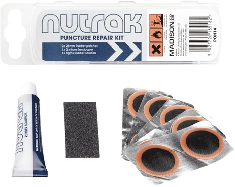 Nutrak Puncture Repair Kit Without Tyre Levers
