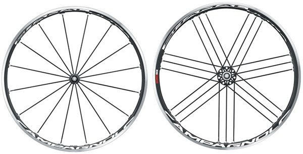 Image of Campagnolo Shamal Ultra Black Tubular Wheelset