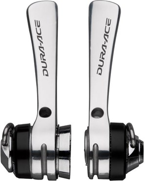 Image of Shimano Dura-Ace SL-7700 9-speed Braze-on Downtube Shifters