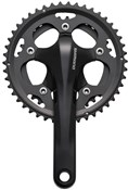 Product image for Shimano FC-CX50 Cyclocross 10-speed 2-Piece Design Chainset