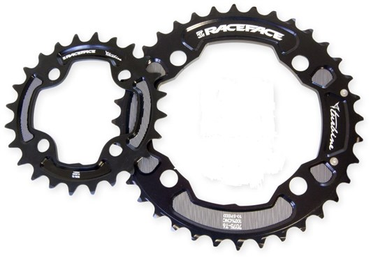 Race Face Turbine 10 Speed Double Chainring Set