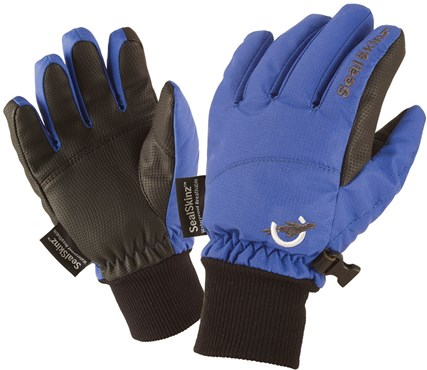 Image of Sealskinz Childrens Waterproof / Windproof Long Finger Gloves