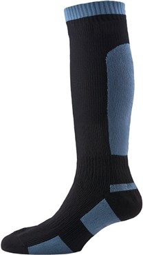 Image of Sealskinz Mid Weight Knee Length Socks