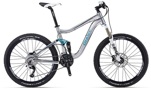 Giant Trance X 1 Womens Mountain Bike 2012 - Full Suspension MTB