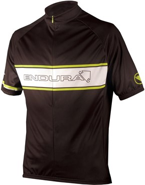 Image of Endura CoolMax Printed Endura Retro Short Sleeve Cycling Jersey AW16