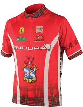 Image of Endura CoolMax Printed Clan Short Sleeve Cycling Jersey SS16