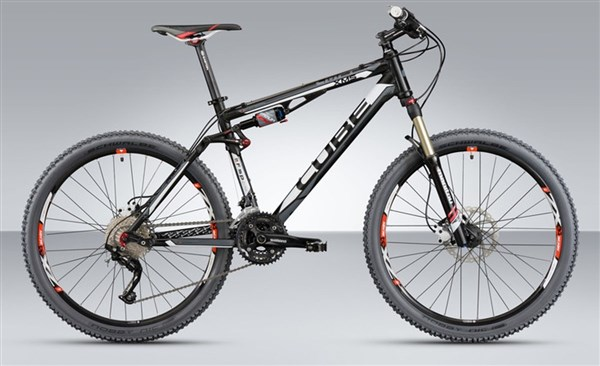 Cube XMS Mountain Bike 2012 - Full Suspension MTB