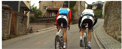 Fortius i-Magic Ergo Video Training with Frank and Andy Schleck - Luxembourg