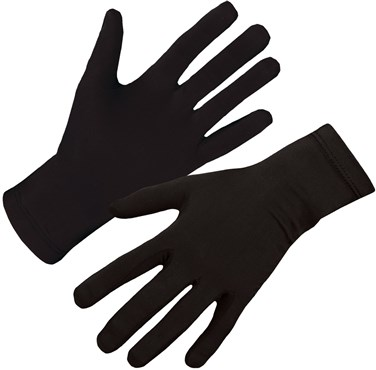 Image of Endura Fleece Liner Long Finger Cycling Gloves AW16