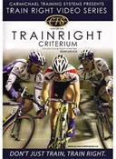 Product image for Carmichael Training Train Right Criterium DVD