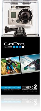 GoPro HD Hero 2 Camera with Outdoor Mount and Accessories