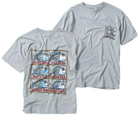 Weird Fish Vintage Six T-Shirt