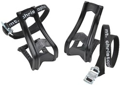 Product image for Zefal Toe Clip 43 & 515 Strap Set