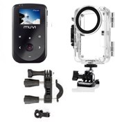 Muvi HD10 with Waterproof Case and Handlebar Mount