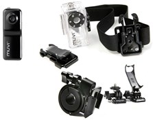 Muvi Camera with Waterproof Case and Handlebar Mount