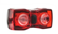 Radient Dual 1/2 Watt Led USB Rechargeable Rear Light