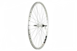 Tru-Build 700c Mach 1 240 Alloy Rim Rear Wheel - Screw On Freewheel Fitting