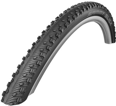 Image of Schwalbe Sammy Slick Raceguard Dual Compound Performance Wired 700c Hybrid Tyre