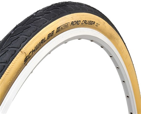 Image of Schwalbe Road Cruiser k-Guard 700c Tyre With Gumwall Sidewalls