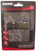 Product image for Baradine Hayes HFX/Promax Organic Disc Brake Pads