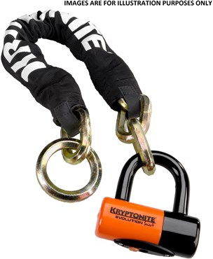 Kryptonite New York Noose 130cm Chain Lock With EV Series 4 Disc Lock